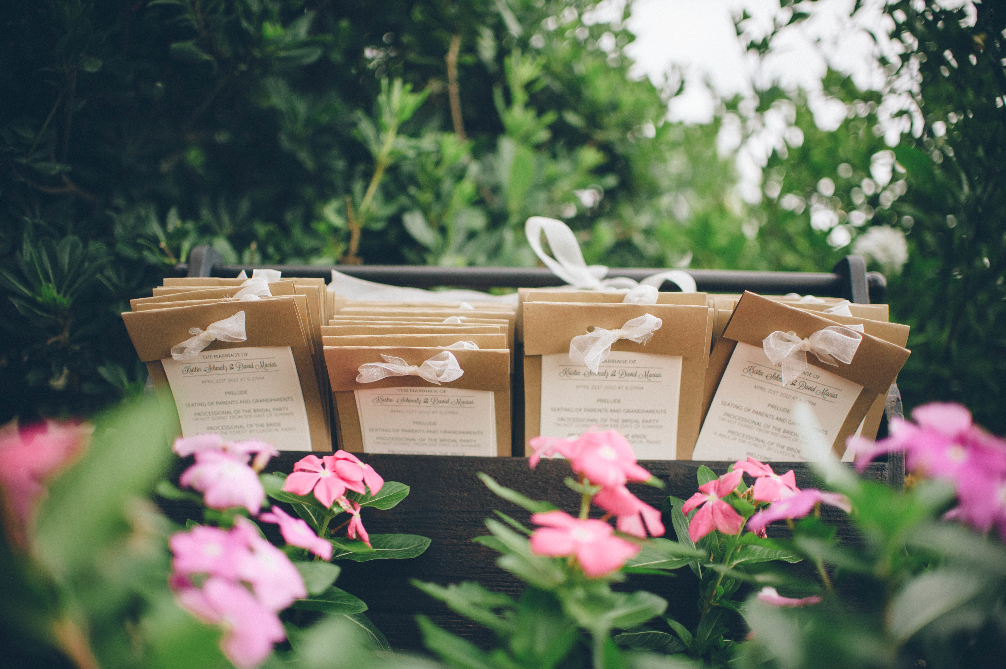 10 Wedding Program Ideas to Get You Inspired