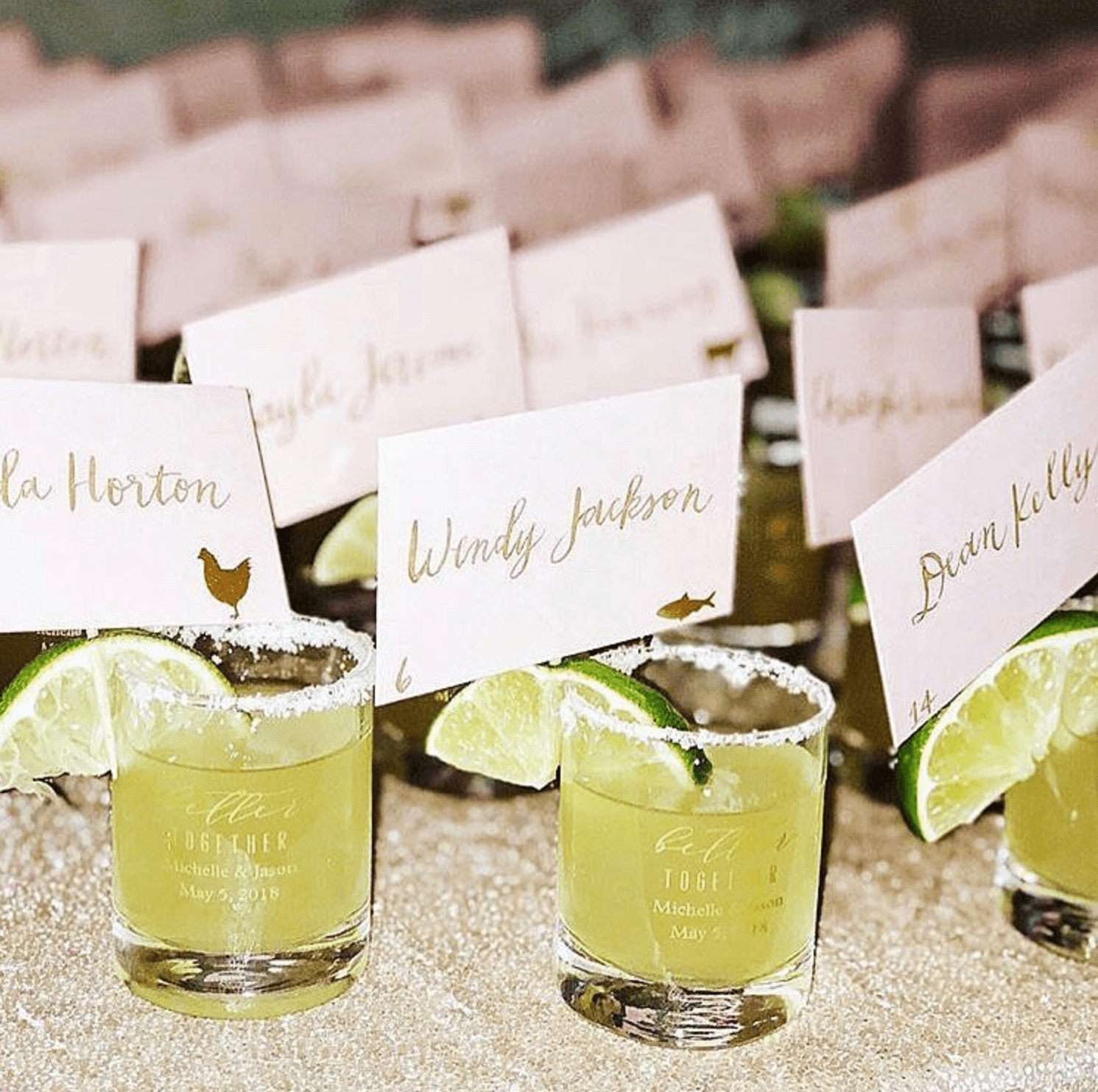 36 Creative Wedding Escort Card Ideas