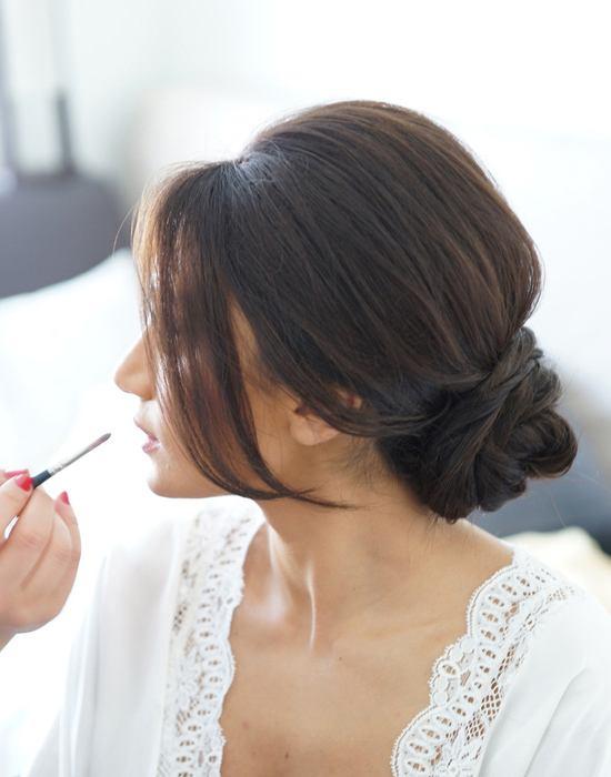 Tremendous Wedding Hairstyle Inspiration 17 Stunning Low Buns Joy Natural Hairstyles Runnerswayorg