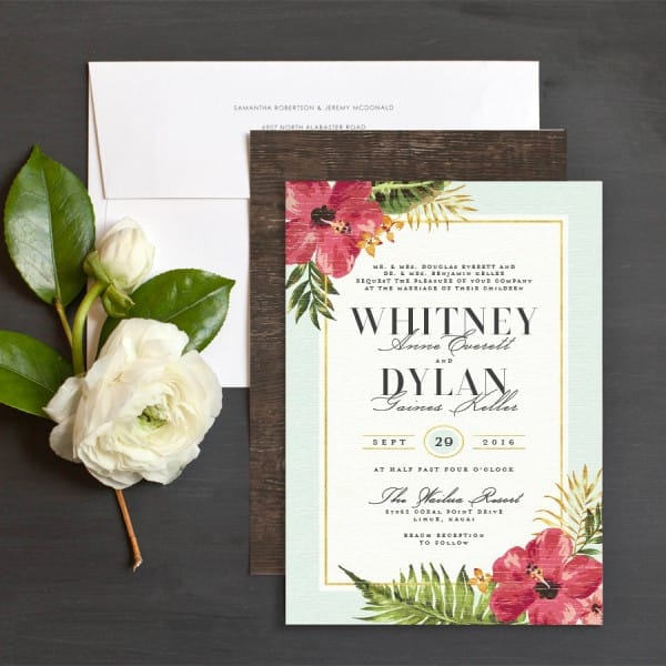 Destination Wedding Save the Dates: Etiquette and Examples