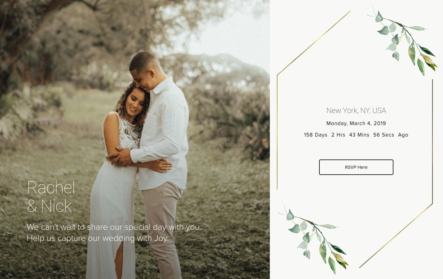 10 Important Questions to Answer in Your Wedding Website FAQ - Joy