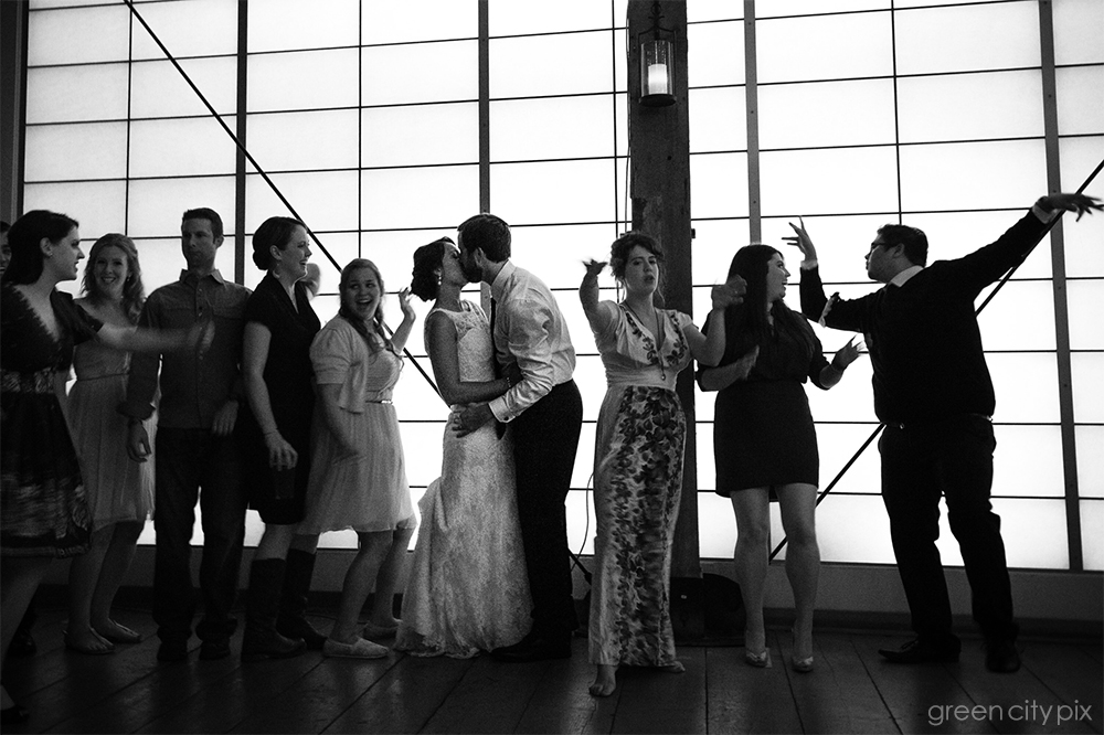 Wedding Party Dancing