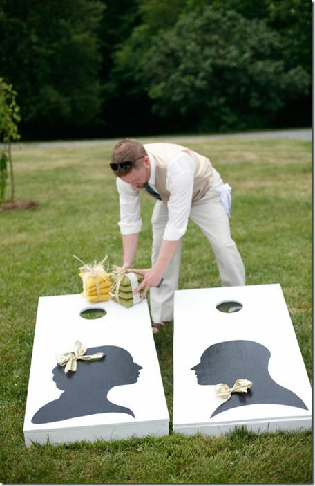 Wedding Cornhole Toss