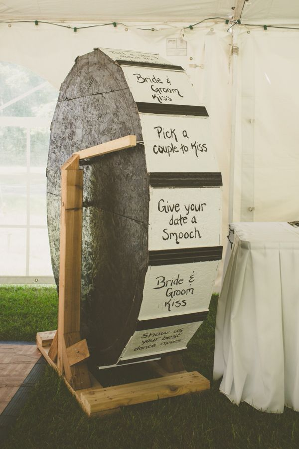 Wedding Price is Right Wheel