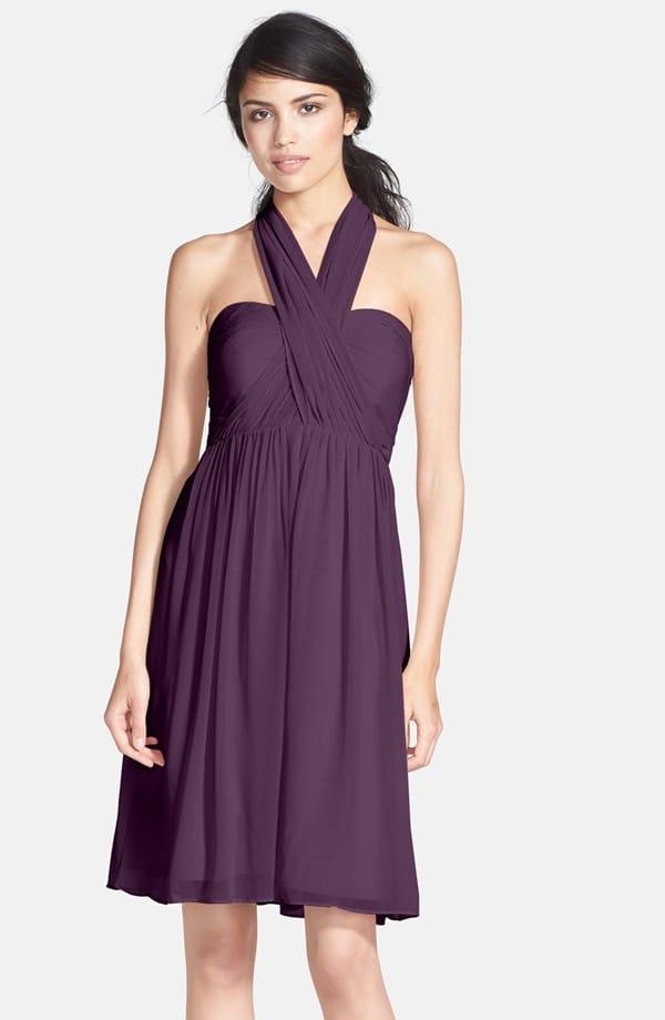 Empire waist dresses for round shaped bridesmaids