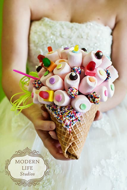candy-inspired wedding blog