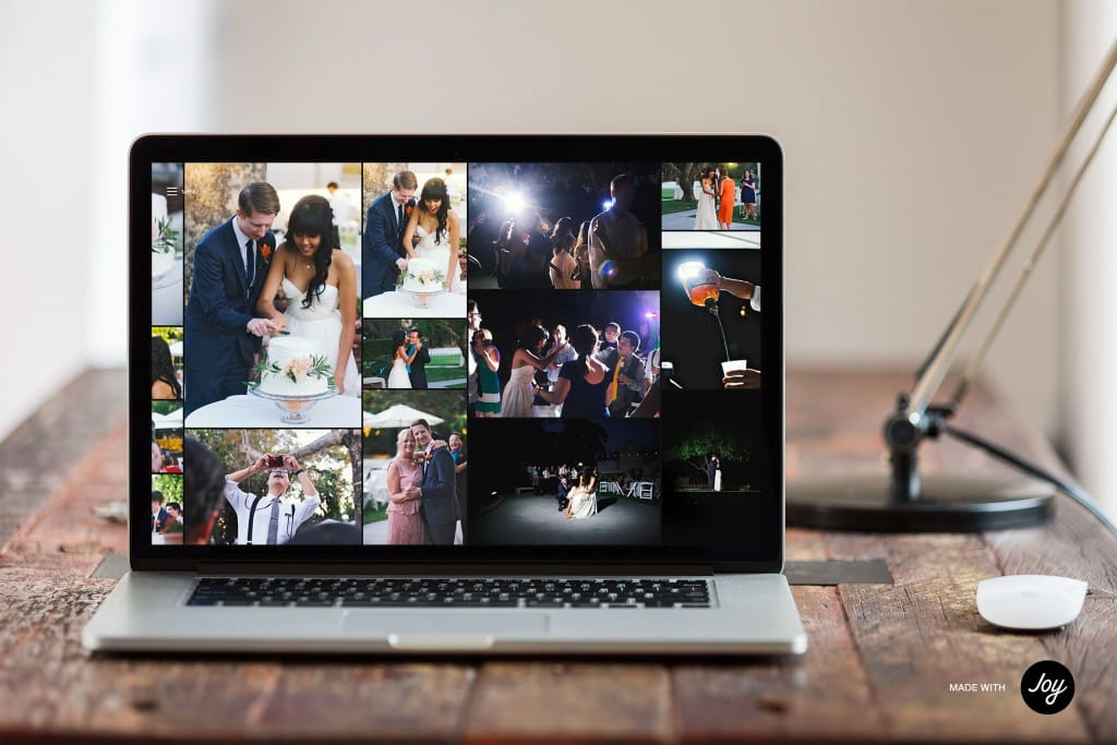 You (and your guests) can view the Moments timeline any time to relive memories or create a slideshow instantly!