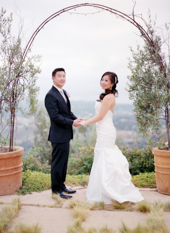 Malibu couple wedding
