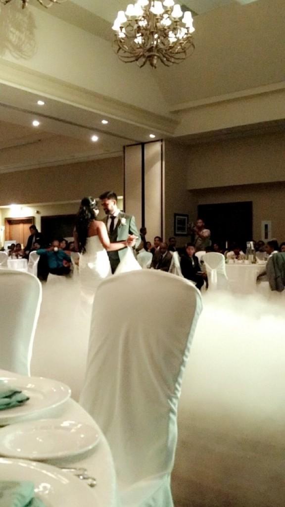 first dance fog effect