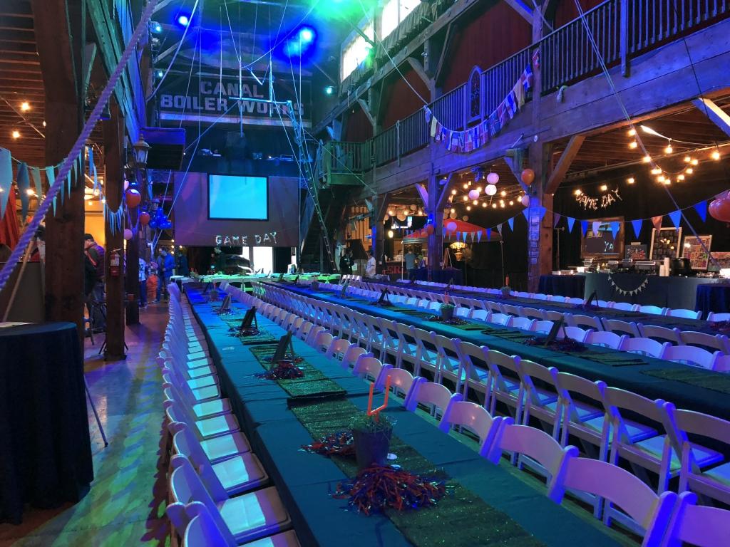 emerald city trapeze seattle wedding venue