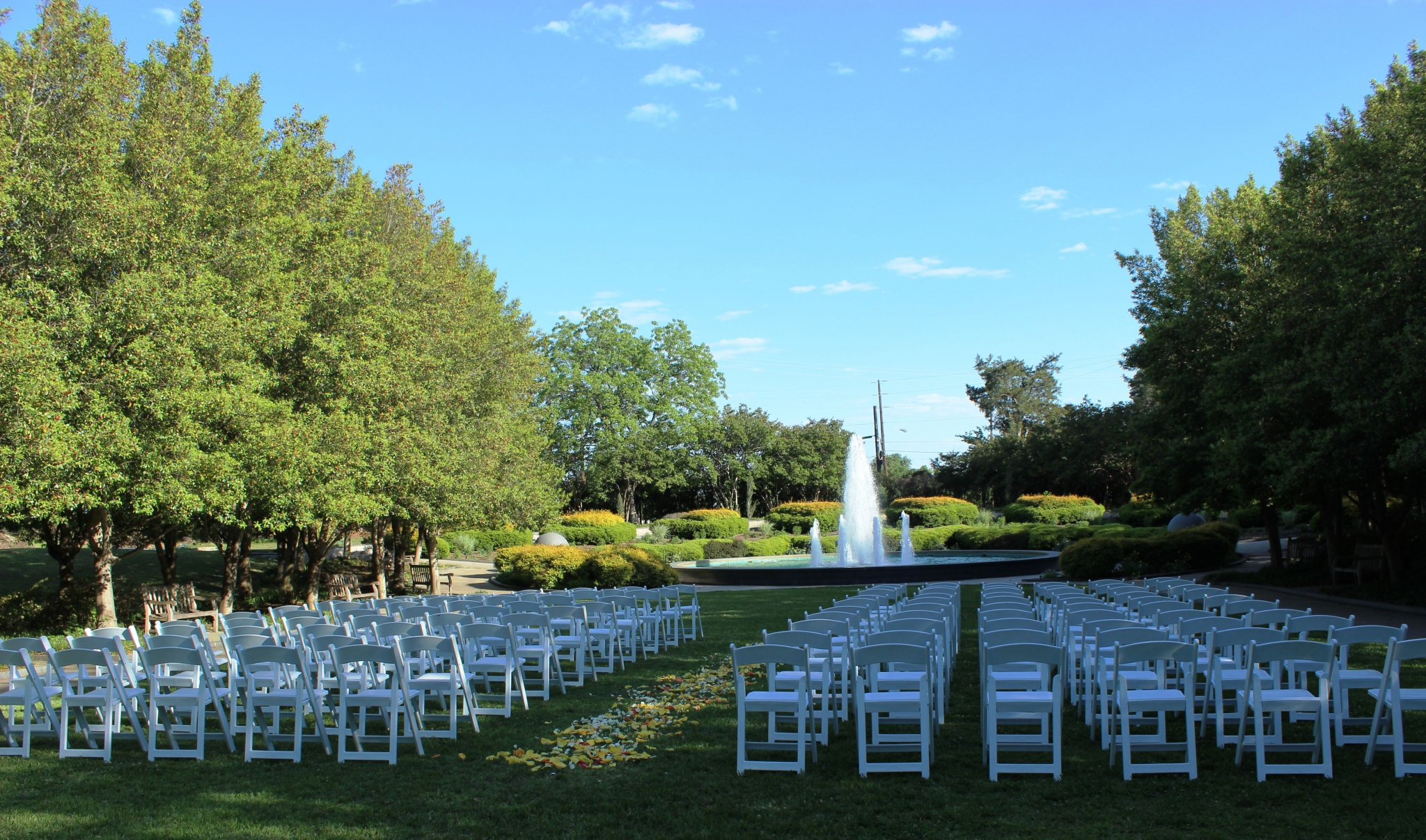 texas discovery gardens dallas wedding venue