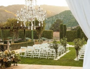 bernardus lodge carmel valley wedding ceremony