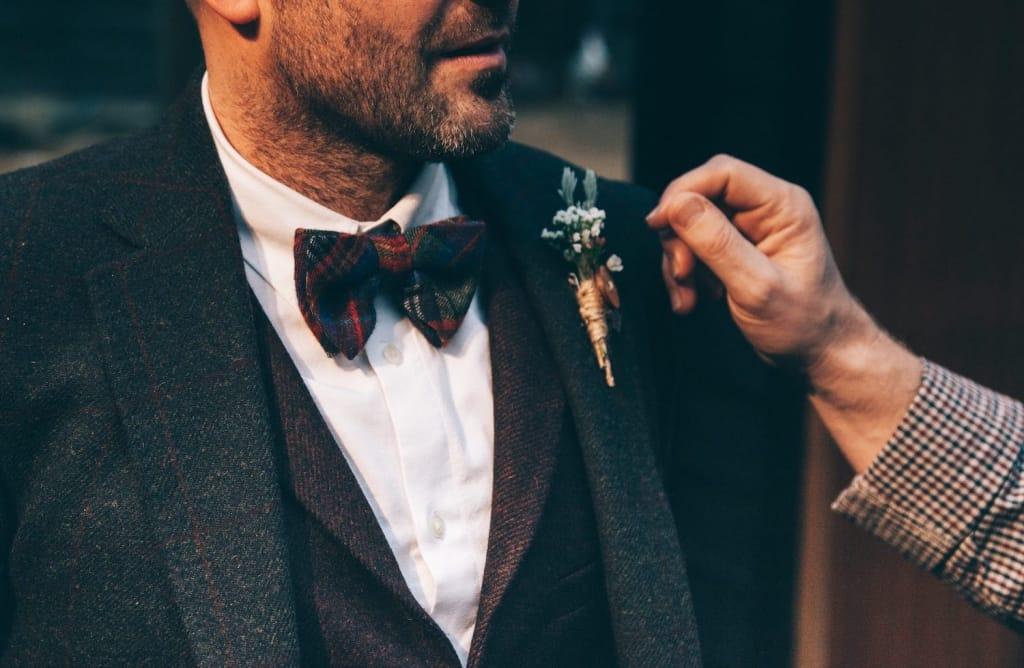 bow tie groomsmen proposal idea