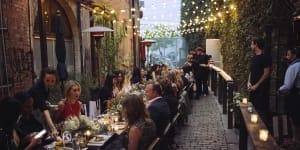 cafe societe outdoor wedding venues in la