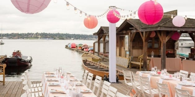 center for wooden boats seattle wedding