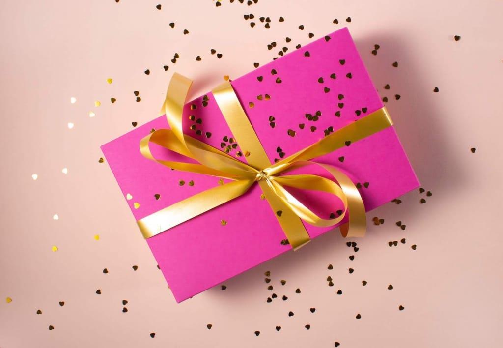 engagement party favor box