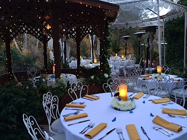 inn of the seventh ray la outdoor wedding venues