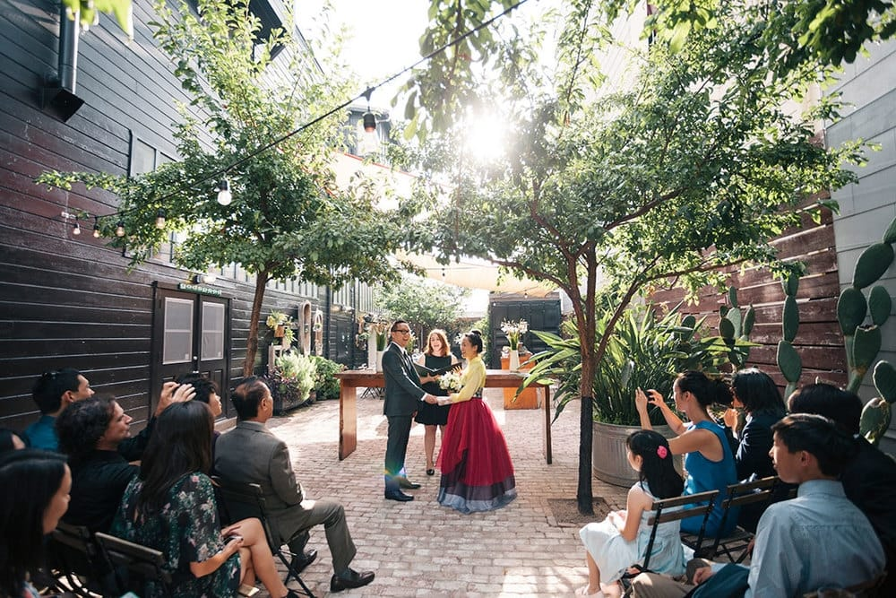the stable cafe small san francisco wedding venue