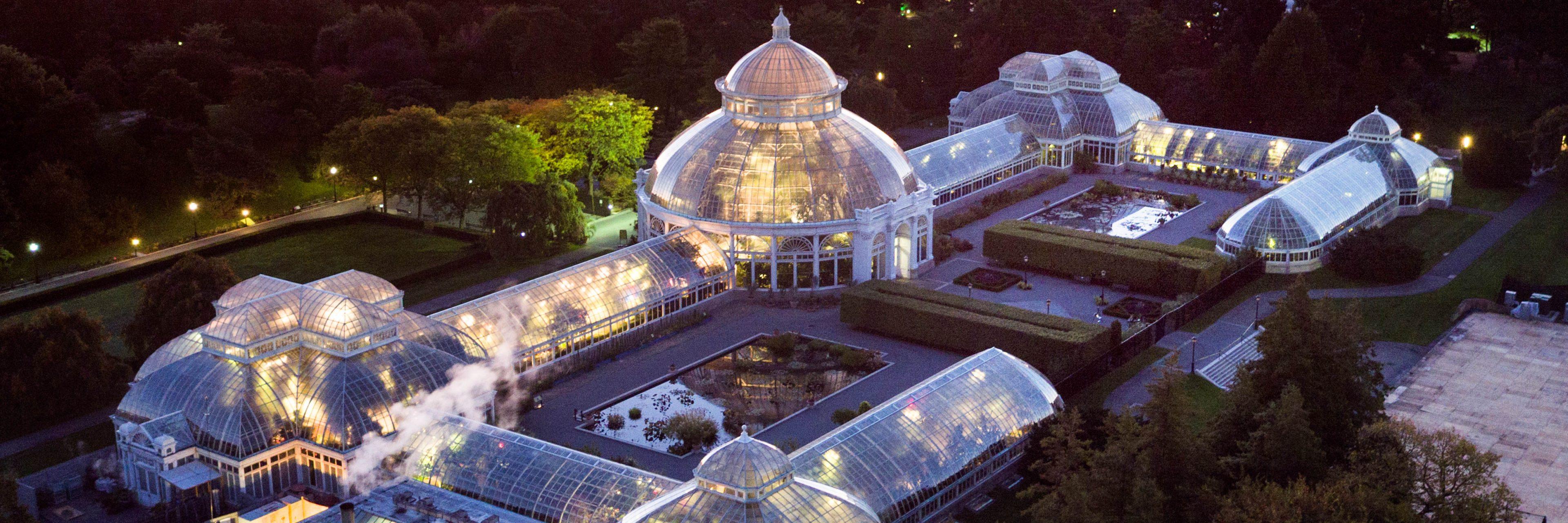 bronx wedding venues botanical gardens