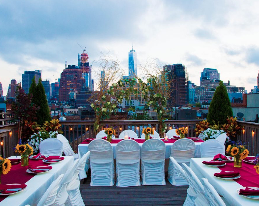 rooftop garden wedding nyc
