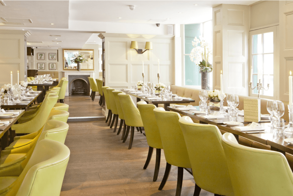 wedding at chiswell street dining