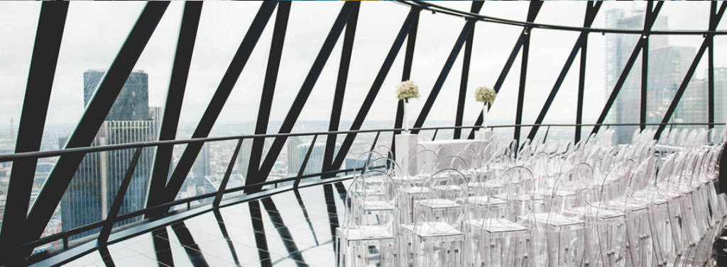 searcys gherkin wedding