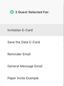 invitation e-card