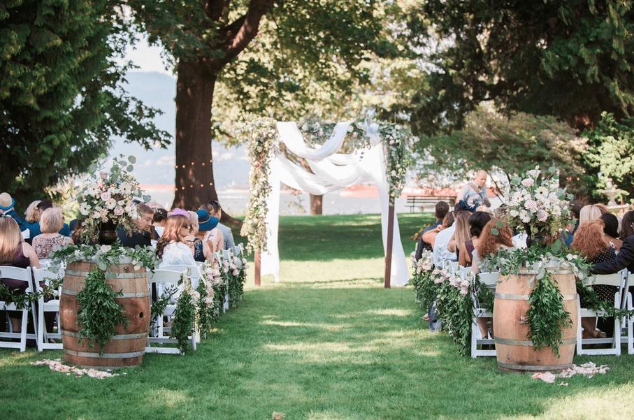 brock house restaurant wedding