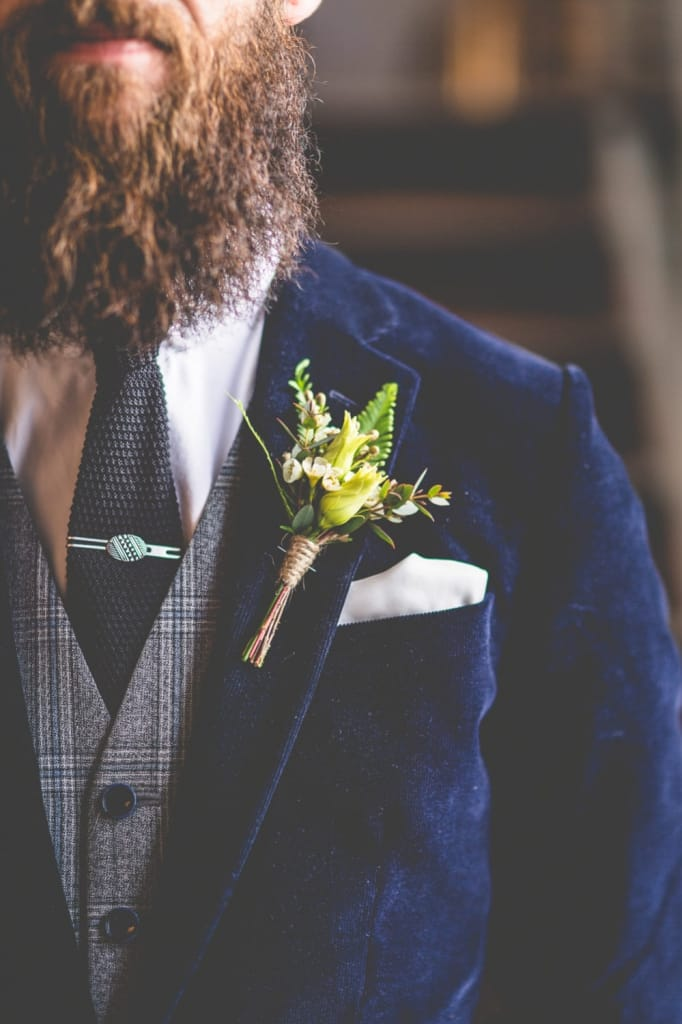velvet jacket fall groom style