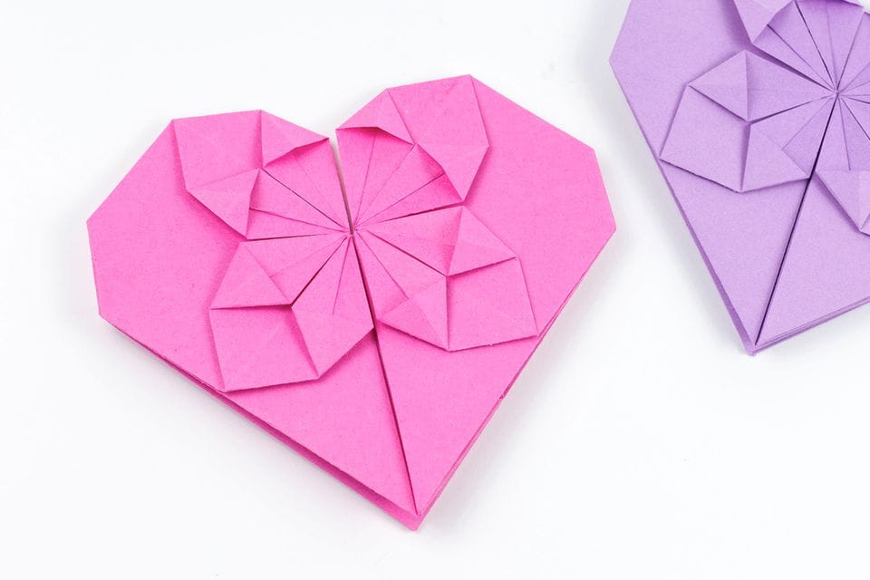 origami save the dates