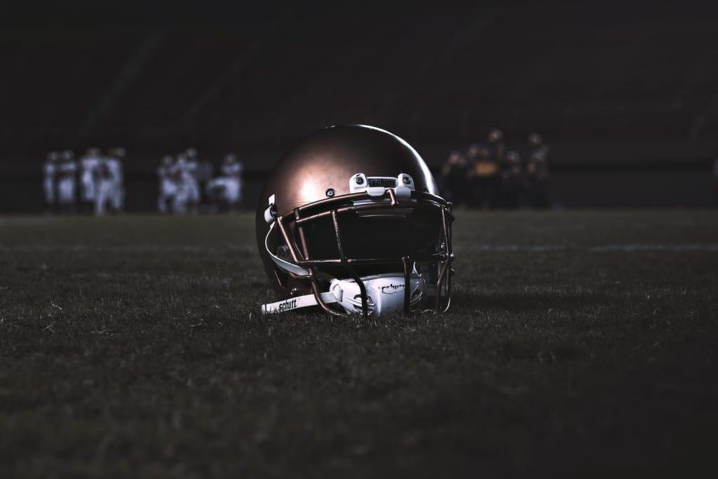 football game helmet
