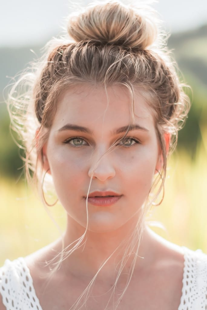 Bridesmaid Hairstyles: Imperfect Top Knot
