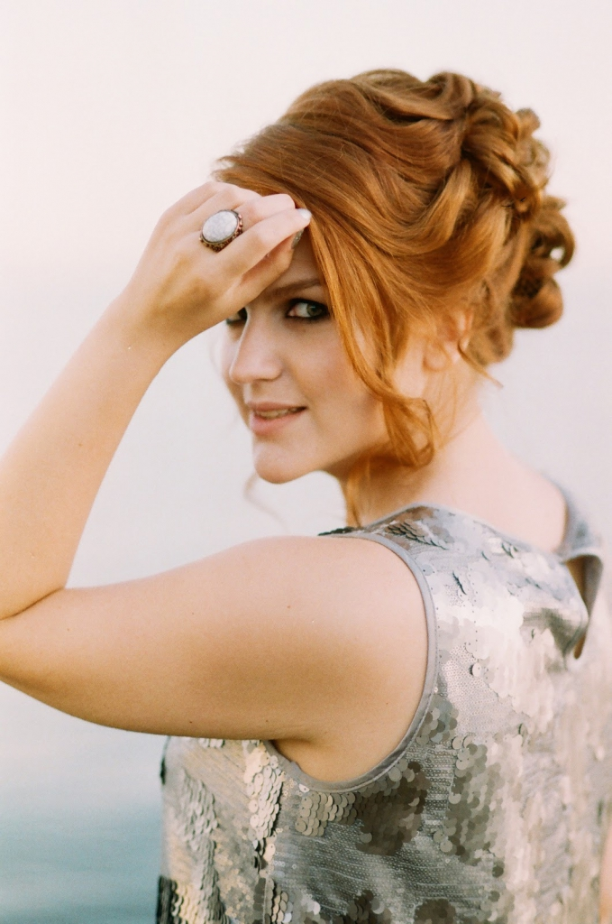 Bridesmaid hairstyles: Updo With Soft Curls
