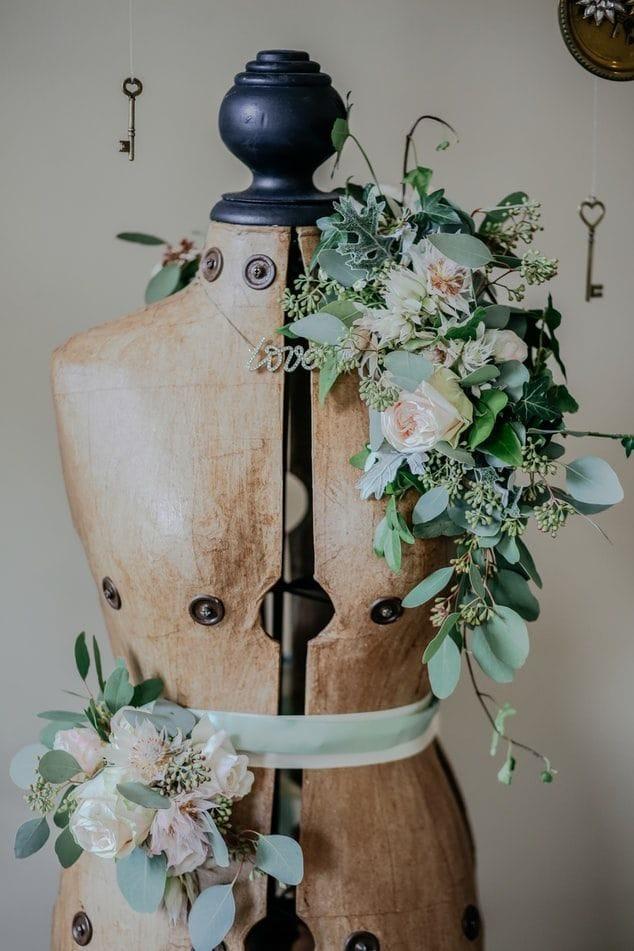 Bridal dress form