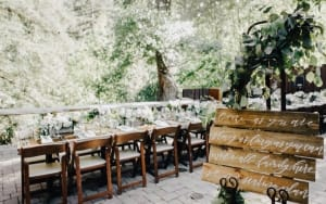 glen oaks big sur wedding venues reception