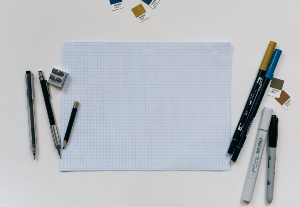diy graph paper save the dates
