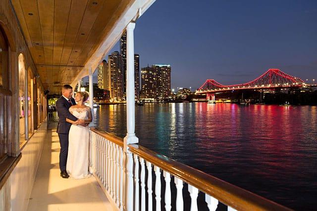 kookaburra cruises wedding