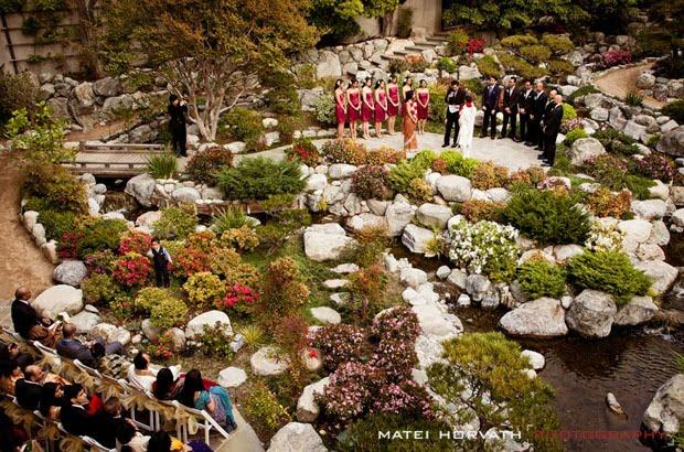 japanese gardens la outdoor wedding venues