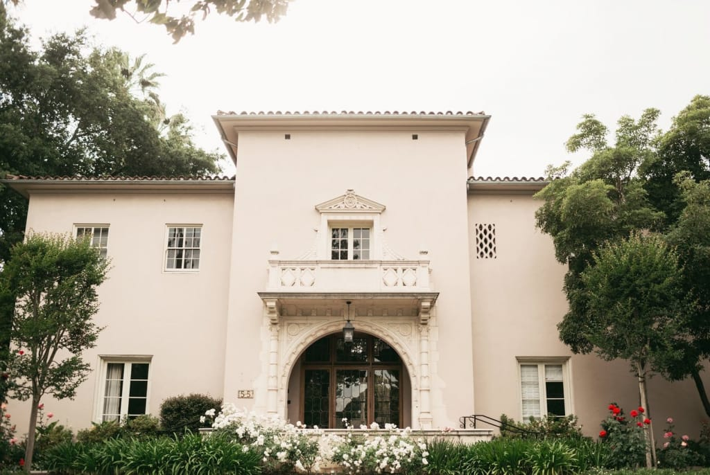 maxwell house pasadena wedding