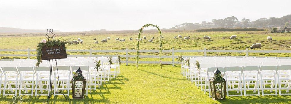 mission ranch carmel wedding