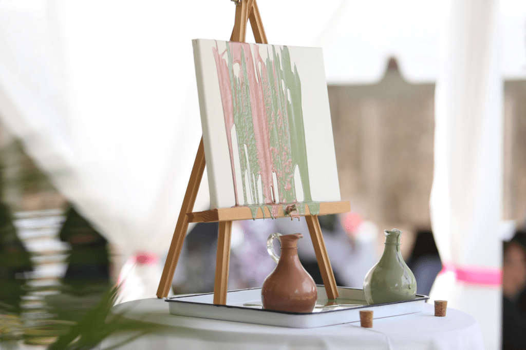 Wedding ceremony ideas: Painting