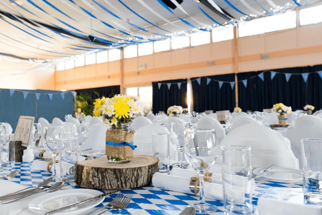 Bridal shower decoration ideas: Streamers