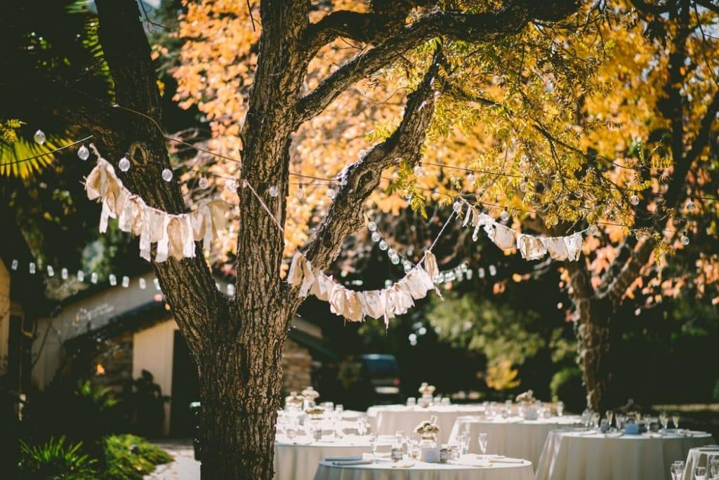 Rustic banner for bridal shower