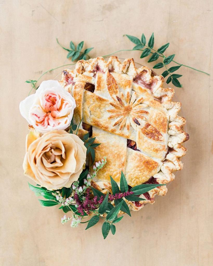 fall wedding ideas pie