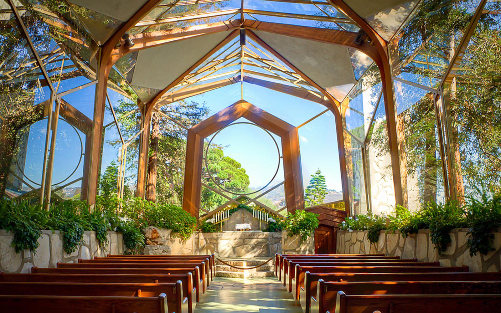 small wedding venues la wayfarers chapel