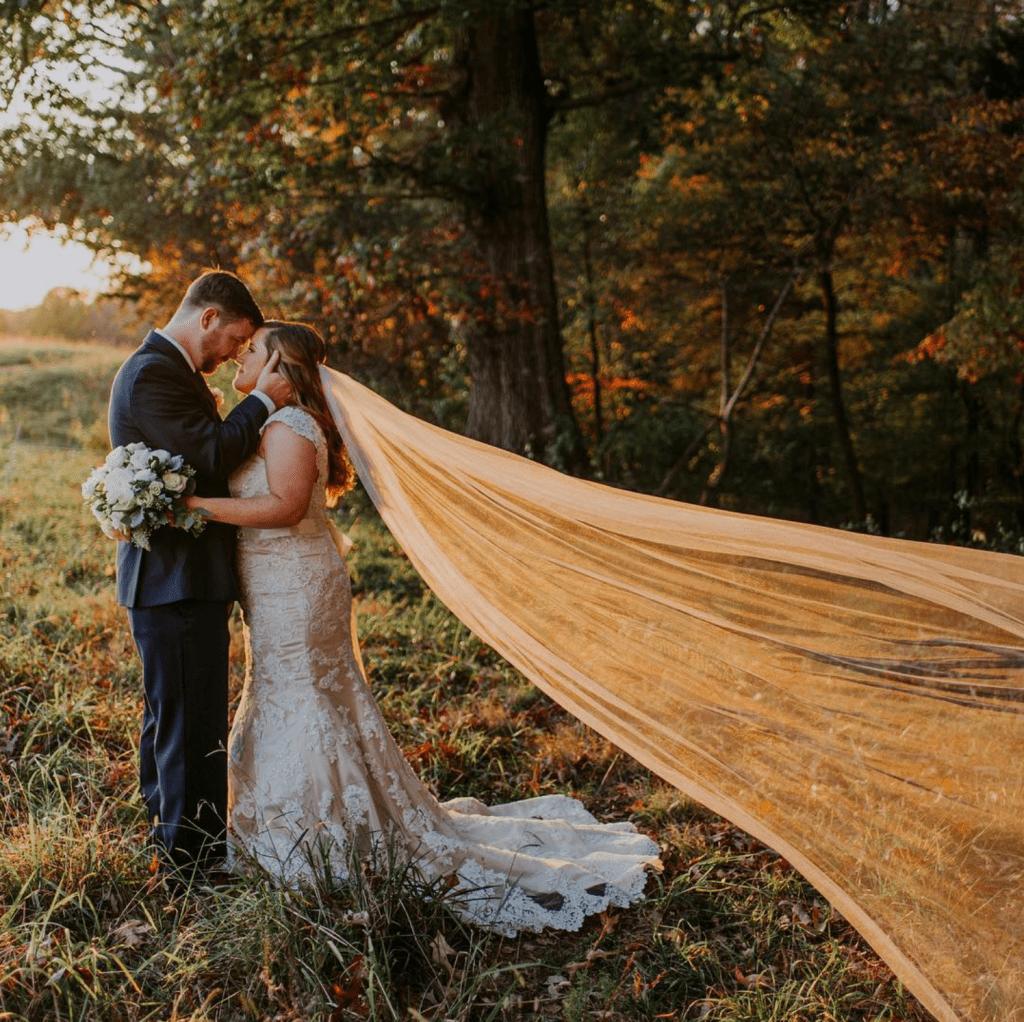 fall wedding style foliage